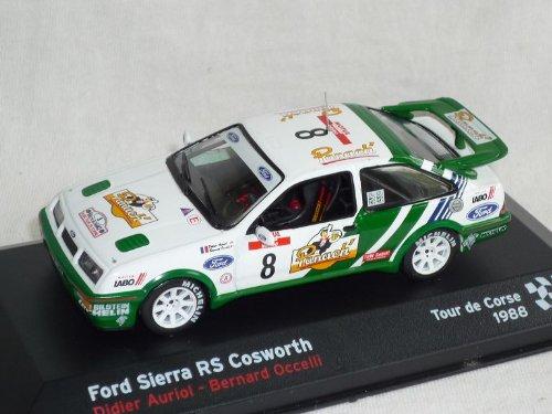 Ford Sierra RS Cosworth Didier Auriol Bernard Occelli Rally 1/43 Altaya by...