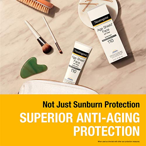 Neutrogena Age Shield Face Lotion Sunscreen with Broad Spectrum SPF 110, Oil-Free