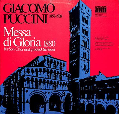 Puccini: Messa di Gloria 1880 für Soli, Chor und großes Orchester - AMS 3517 - Vinyl LP