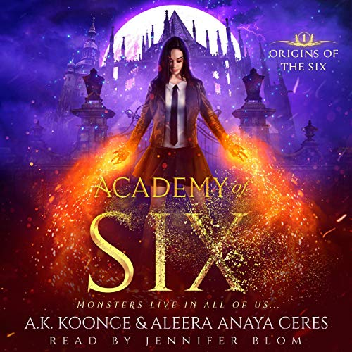 Couverture de Academy of Six