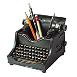 """Typewriter themed design 5""""x5""""x5"""" Faux stone composite"""