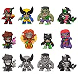 Funko- Mystery Minis: Marvel Zombies 12PC PDQ Figura Coleccionable, Multicolor (49114)