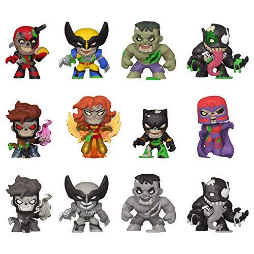 Funko- Mystery Minis: Marvel Zombies 12PC PDQ Figura da Collezione, Multicolore, One Size, 49114