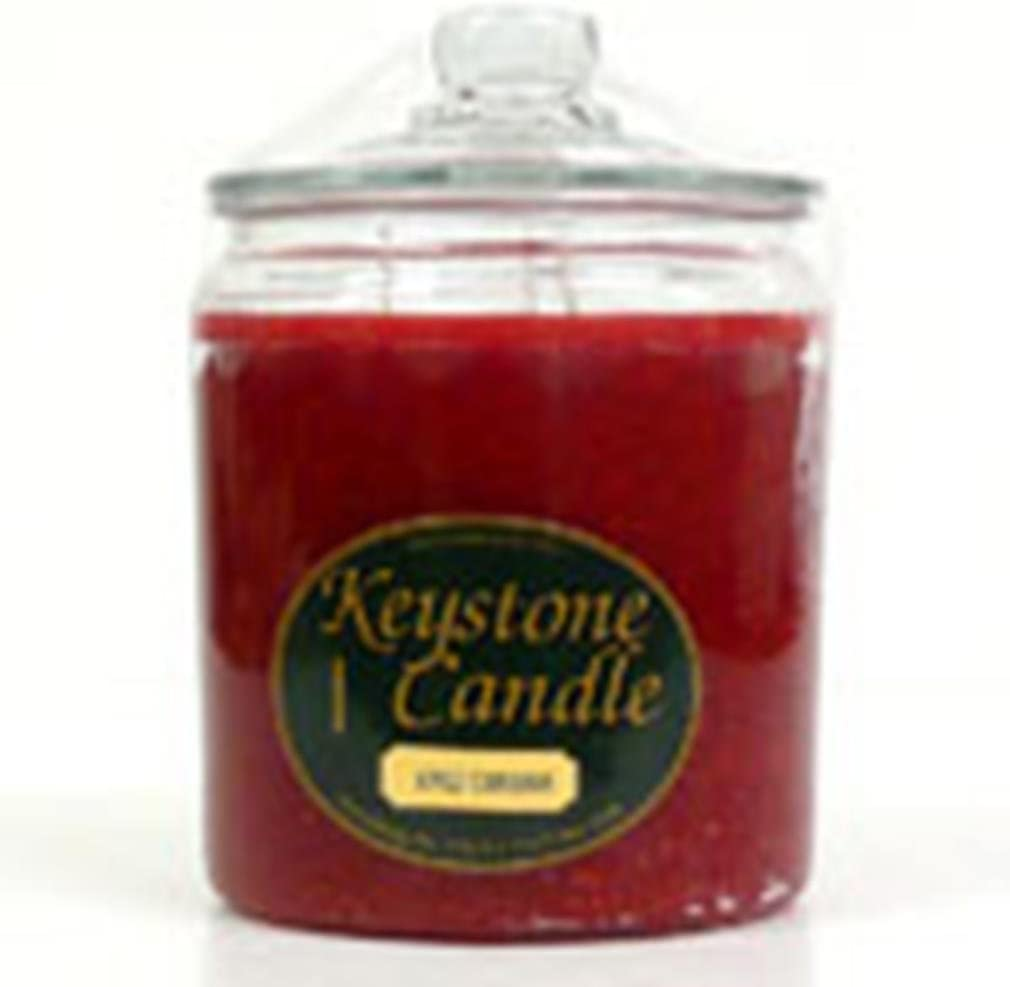 Red Opening large release sale Hot New item Cinnamon Jar 64 oz Candles