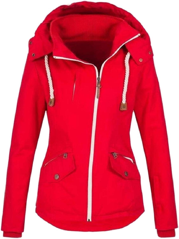Xswsy XGCA Women's Flight Solid colord Fall Winter Hoodie Oblique Zipper Outwears