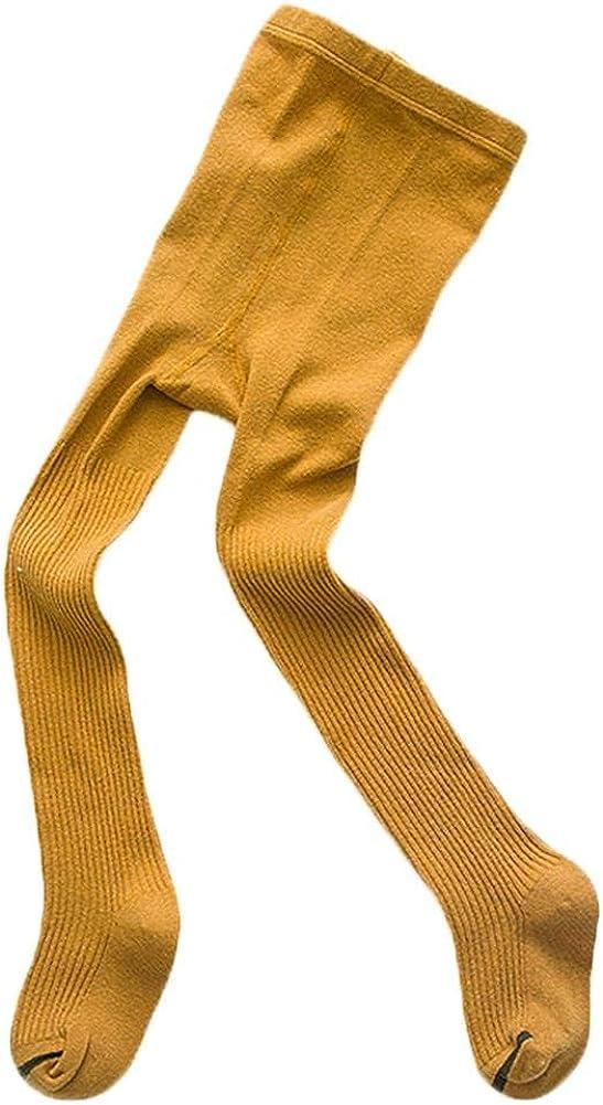 Vikenner Girl Plain Thicken Tights Strip Cartoon Winter Pantyhose Cotton Stockings