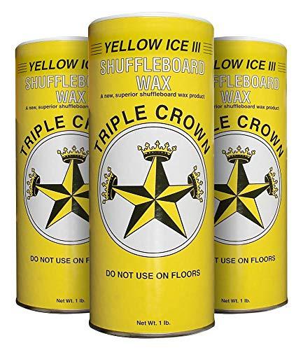 TRIPLE CROWN Yellow Ice III Shuffleboard...