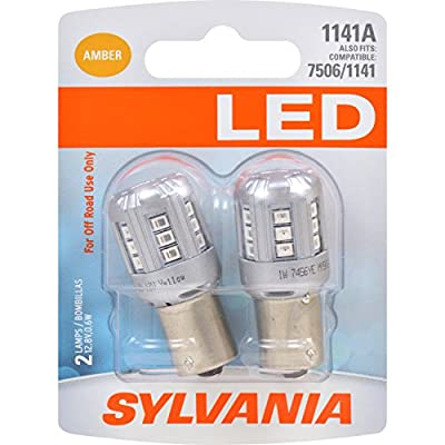 SYLVANIA 1141 Red LED Bulb (Pack of 2)