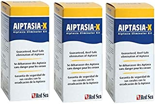 Fish Pharm (3 Pack) Red Sea ARE22231 Aiptasia-X Eliminator Kit for Aquarium, 2.02-Ounce
