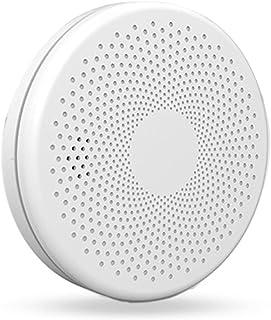 Tuya Smart Wifi Rookmelder Thuis Brand Sound Light Alarm Sensor Alert Combinatie Rookmelder Battery Operated Voice Alert E...