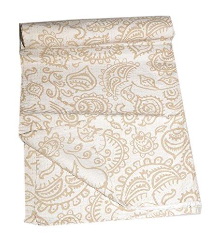 Tribal Asian Textiles Ethnique Indianprint Kantha Queen Coton Indien Couvre-lit Boho Couvre-lit
