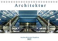 Architektur - Ansichten, Blickwinkel, Perspektiven (Tischkalender 2022 DIN A5 quer): Architektur und Ansichten aus verschiedenen Staedten Deutschlands (Monatskalender, 14 Seiten )