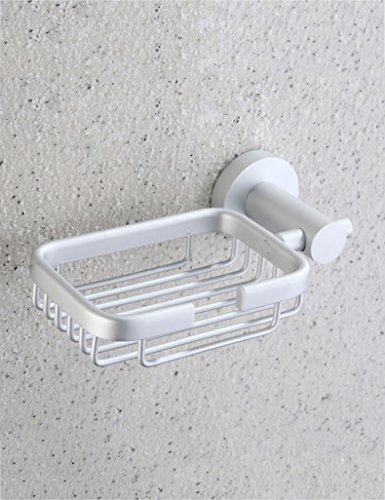 Seifenschalen HAIZHEN Space Aluminium-Seife Netto-WC Seife Rack Seifenkiste Fashion Hotel Badezimmer Ausstattung Bad Zubehör