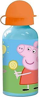 ML Botella de Agua de Aluminio para niños y niñas, 0.4 L cantimplora térmica a Prueba de Fugas sin BPA para Levar a la Escuela y Deportes el Termo/400