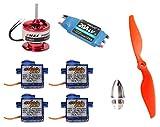 Arkai Juego de regulador de motor Brushless para modelos de aviones de hasta 1000 g