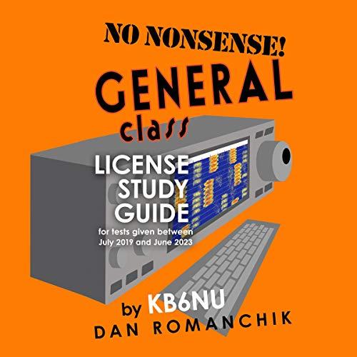 No Nonsense General Class: License Study Guide audiobook cover art