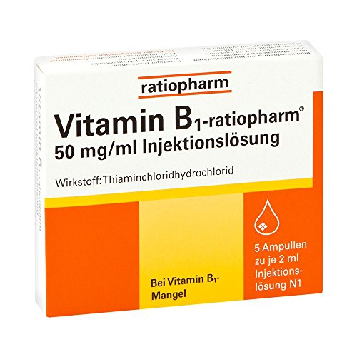 Vitamin B1 ratiopharm 50m 5X2 ml