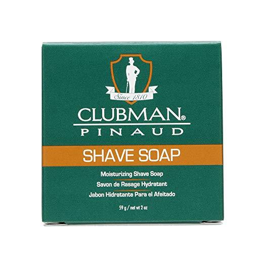 CLUBMAN Jabón de Afeitado - Prepara la Barba para Un Afeitado Perfecto, 59 Gramo