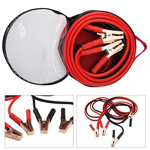 EUROXANTY® Starthilfekabel | Starthilfe Kit mit Klemmen und Tasche | für Autos, Motorräder usw. | 3000 A