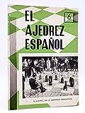REVISTA EL AJEDREZ ESPAÑOL 61 / 6 - 1961. El Ajedrez En La Jardinería Ornamental. FEDA