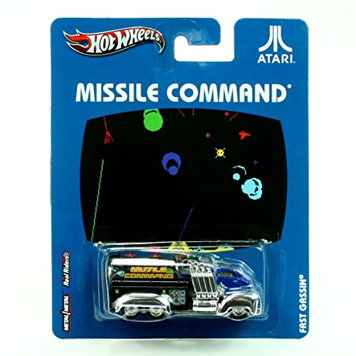 FAST GASSIN' * MISSILE COMMAND * Atari Hot Wheels 2012 Nostalgia Series 1:64 Scale Die-Cast Vehicle