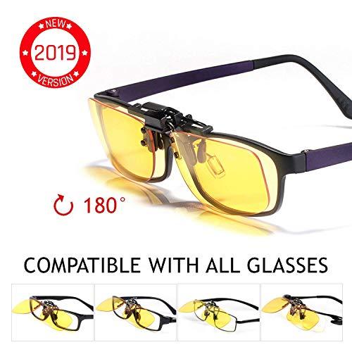 KLIM OTG - Gafas de Clip para Bloquear la Luz Azul -...