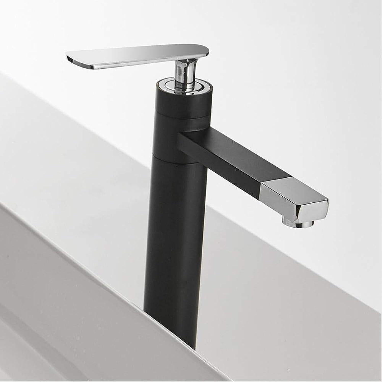 Wasserhahn Becken Wasserhahn Mattschwarz Wasserhahn Waschbecken Wasserhahn Einhand-Loch Deck Montiert Waschen Hei Kalt Mischbatterie Kran