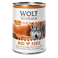 Enriched with fruits of the forest (mixed berries), wild herbs and roots No artificial preservatives, colours or aromas Suitable for dogs with grain allergies Mono protein with prey-typical meat High meat content, min. 66%