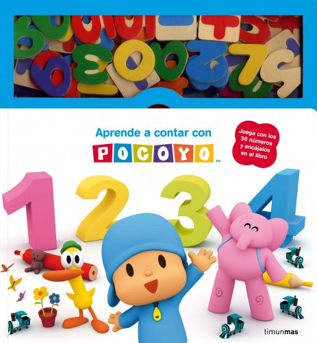 Aprende a contar con Pocoy: Libro con piezas encajables (Pocoyo)