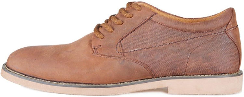 Herren Echtes Leder Leder Schuhe Lace-up Fashion Freizeitschuhe  Online-Verkauf sparen Sie 70%