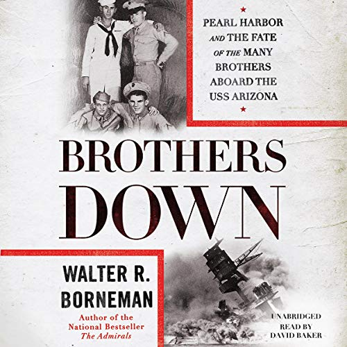 Brothers Down audiobook cover art