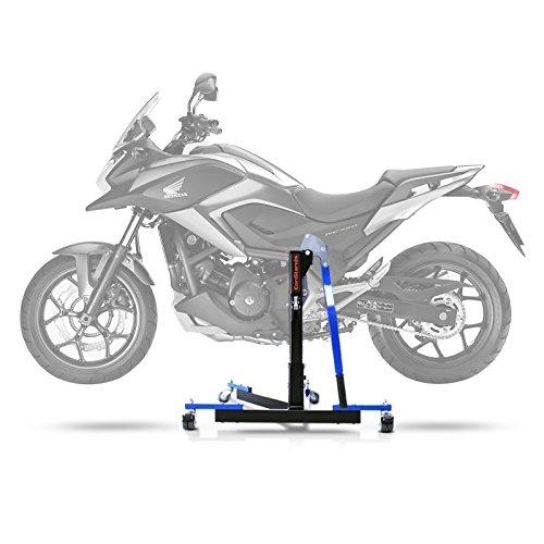 Bequille d'atelier Centrale ConStands Power Evo pour Honda NC 700 S/X 12-13 DCT Bleu