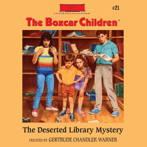 The Deserted Library Mystery audiobook cover art