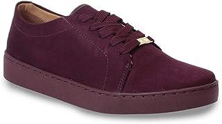 Vizzano Sapato Casual Camurca Flex Feminino, Vizzano
