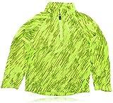 Nike Running Neon Lightning Volt Long Sleeve Shirt Size 4