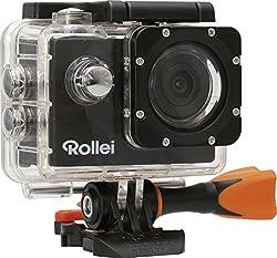 Rollei Actioncam 330 WiFi (Full HD Video Funktion 1080p - Unterwassergehäuse für bis zu 30 Meter Wassertiefe) schwarz
