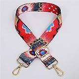Shop-PEJ Nuevas Bolsas Correa Strap Ajustable Metal Hebilla Bolsa Cinturón Moda Moda Bolso Accesorios de Viaje Hombres Bolsas Cadena para Mujer Bolso/Monedero (Color : C)