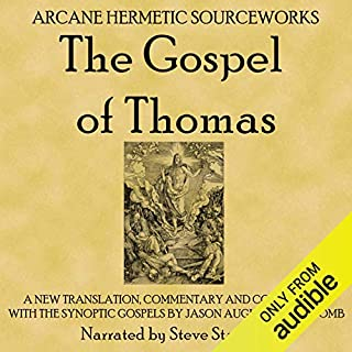 The Gospel of Thomas audiobook cover art