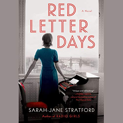 Red Letter Days audiobook cover art