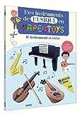 Papertoys Auzou - Mes instruments de musique