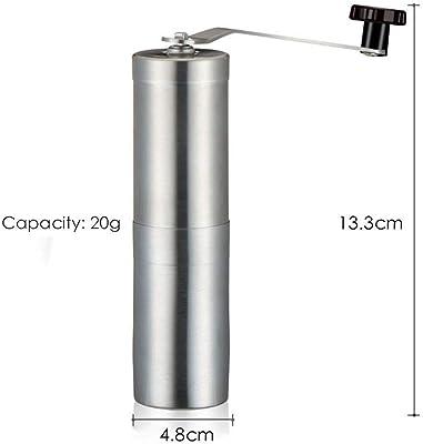 Yg-ct 手動コーヒーグラインダー20/30グラム洗えるセラミックコアステンレス鋼の手作りミニコーヒー豆バリグラインダーミルキッチンツール (サイズ : X)