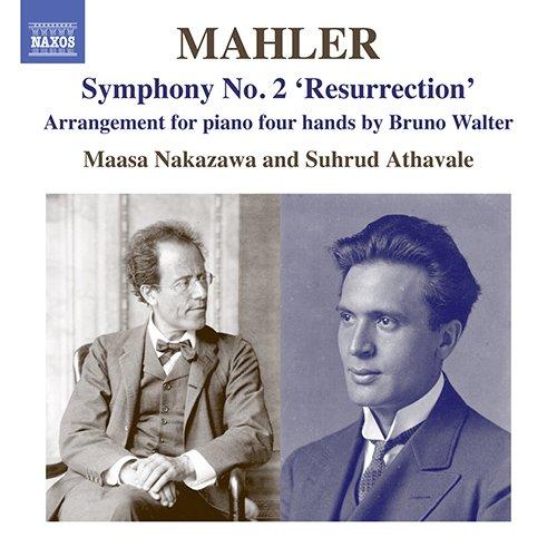 マーラー:交響曲 第2番「復活」(B.ワルターによるピアノ4手版)