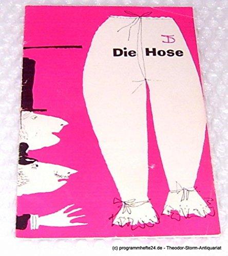 Programmheft Die Hose. Bürgerliches Lustspiel von Carl Sternheim. 1960 / 61 Heft 4