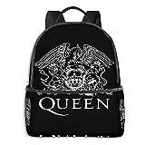 Mochila de viaje con logotipo de la banda de la reina para hombres y niñas, mochila multifuncional para portátil, mochila de viaje, impresión en D, resistente al agua, resistente al agua
