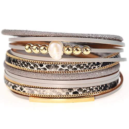 Suyi Leather Bracelet for Women ...