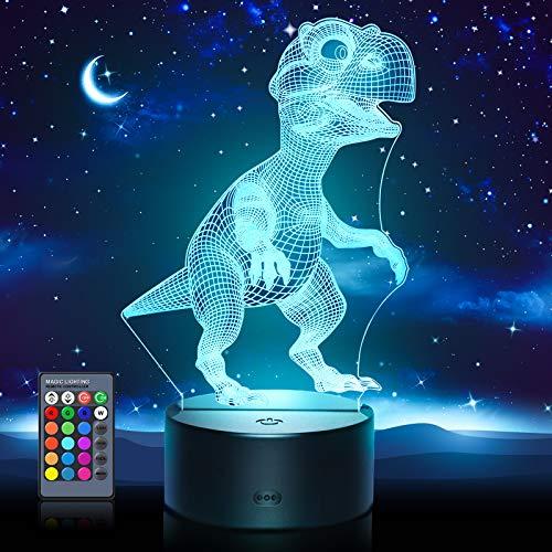 Dreamingbox Dinosaurios Juguetes Luz 3D - Regalos & Juguetes para Niños