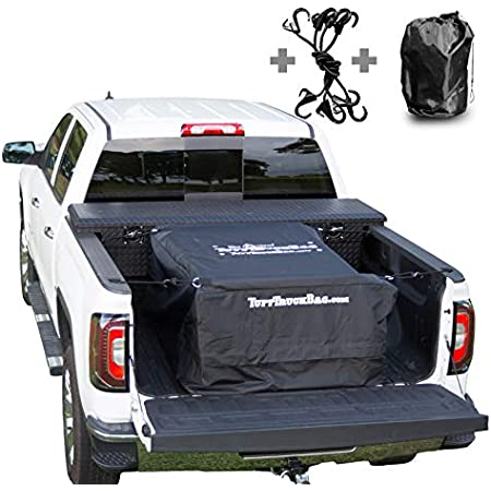 Tuff Truck Bag Black Waterproof Truck Bed Cargo Carrier 40 X 50 X 22 Automotive