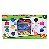 Toys and Games Funskool fun dough - the ultimate dough and tool kit great for creative and educational activities A box packed with shapes, colors, tools, numbers and alphabets and more, is a best buy as a gift for children from age three plus years ...