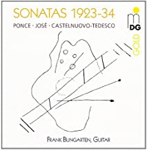Contemporary Guitar Works - Ponce / Jose / Castellnuovo-Tede by Frank Bungarten - Guitar (1995-01-01)