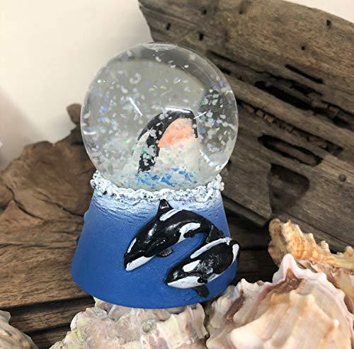 Mezzaluna Gifts Orca Whale Coastal Mini Wasserball Ozean Schneekugel